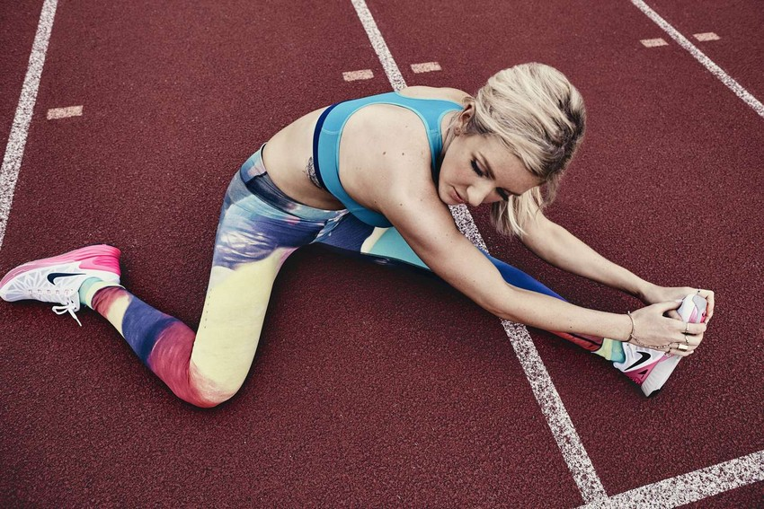 Ellie Goulding x Nike Collection Boosts Your Workout Routine | Image Source: www.gotceleb.com