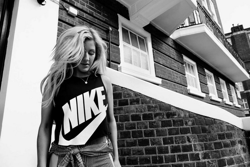 Ellie Goulding x Nike Collection Boosts Your Workout Routine | Image Source: www.hawtcelebs.com