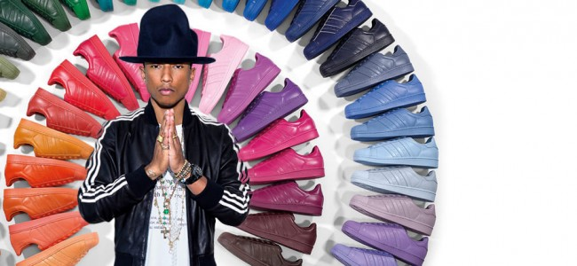 adidas Originals by Pharrell Williams Collection Comes in 50 Shades