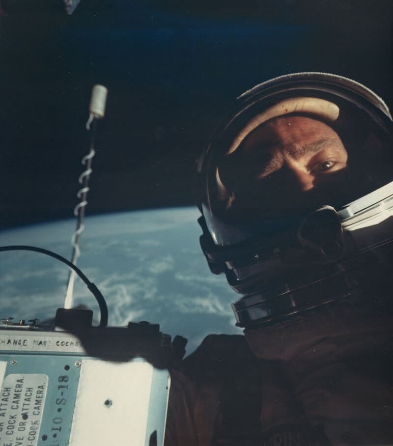 First Space Selfie by Buzz Aldrin sells at an Auction for Big Bucks!
