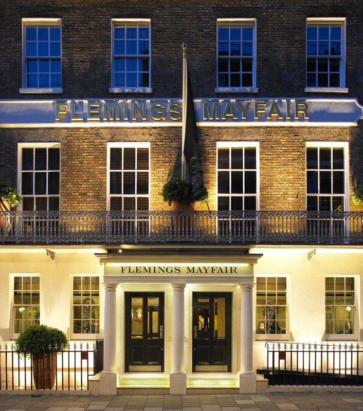 Chic Townhouse Hotel in London: Flemings Mayfair