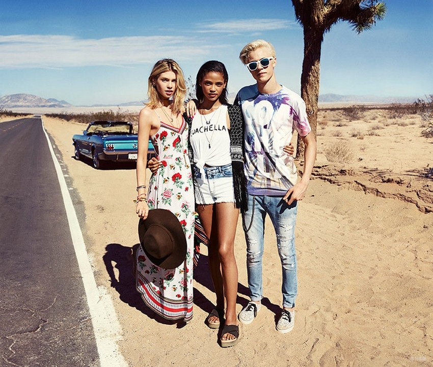 H&M Loves Coachella Is the First Cobranded Collection! | Image Source: www.fashiongonerogue.com