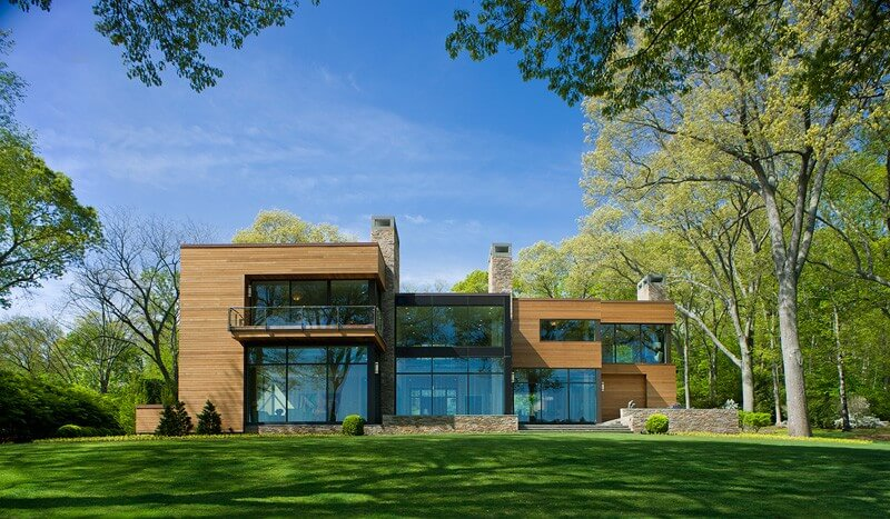 Luxurious Contemporary Home Connecticut - EALUXE | via POA Architecture