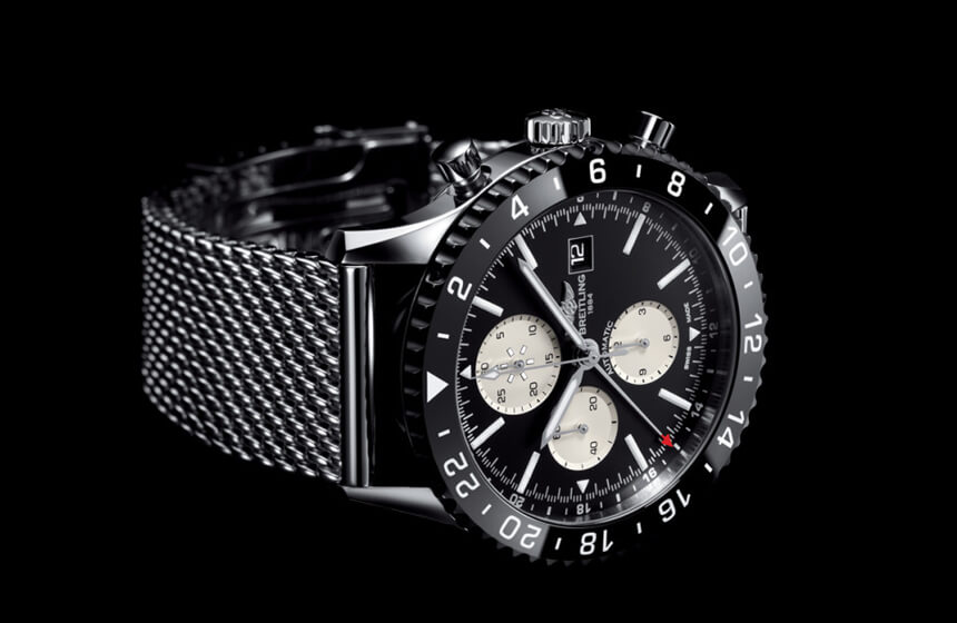 New Breitling Chronoliner Flight Captain Chronograph  Watch