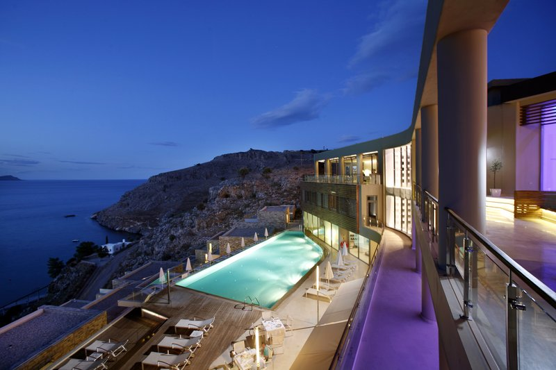 A Secluded Hideaway in Greece: Lindos Blu Hotel