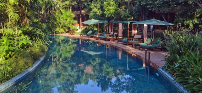 Enchanting Tropical Oasis in Cambodia: Angkor Village Resort