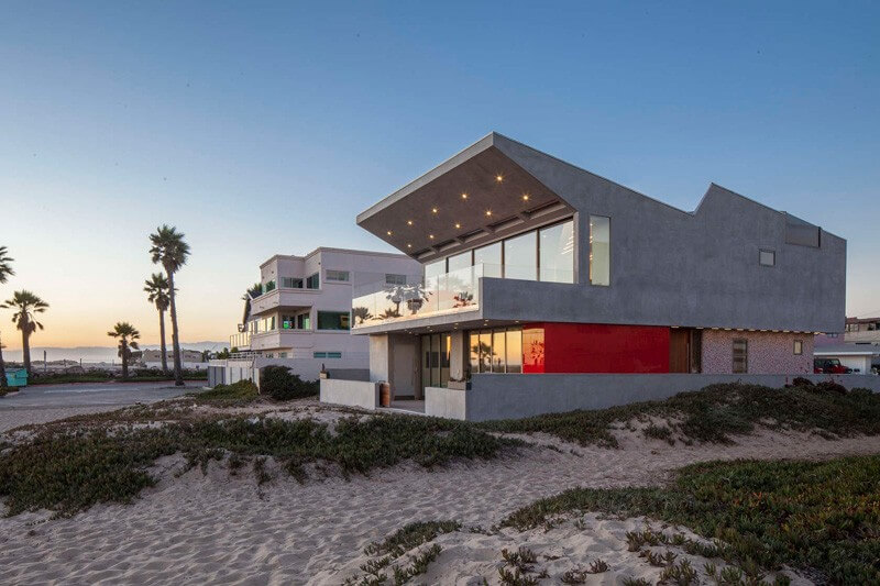 Silver Strand Beach House Luxury Project - EALUXE | via Robert Kerr Architecture