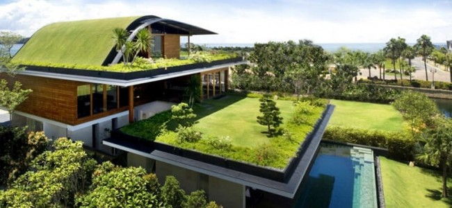 The Sky Garden House From Singapore Offers A Luxurious Green Roof