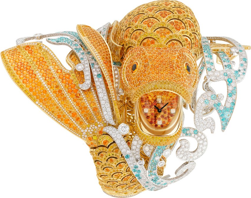 The Carpe Koi Watch Took Over 3,000 Hours to Create! | Image Source: www.forbes.com