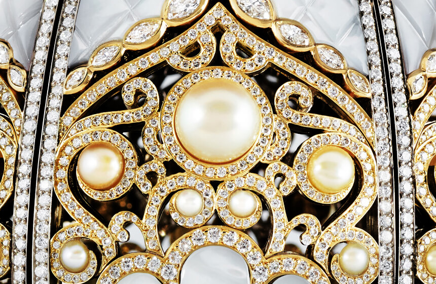 The First Imperial Faberge Pearl Egg