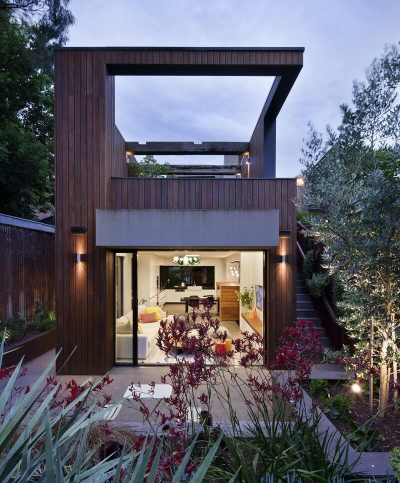 The Fitzroy Residence Contemporary Home - EALUXE | via Shannon McGrath Photography