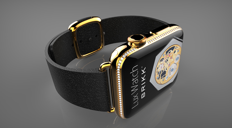 The Most Expensive Apple Watch Yet comes from Brikk