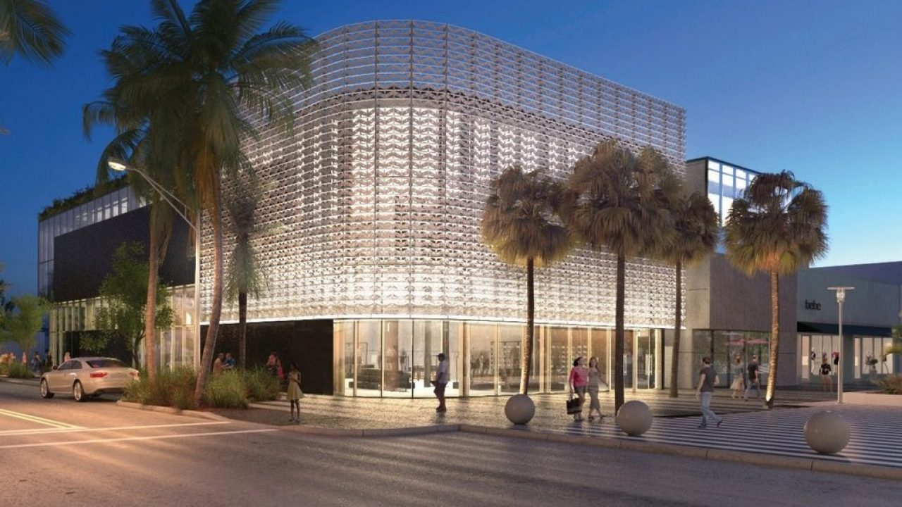 Crónico colegio como resultado  The Nike Store in Miami to Have Rooftop Basketball Court