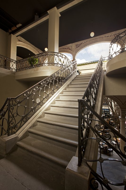 A Beautiful Former Palace in Mexico City: Downtown Hotel