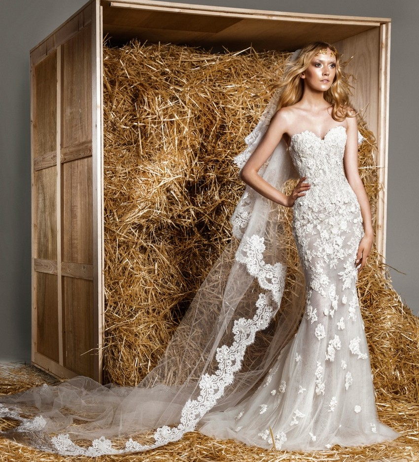Zuhair Murad's Marriage Collection for Spring/Summer 2015 | Image Source: www.fashiongonerogue.com