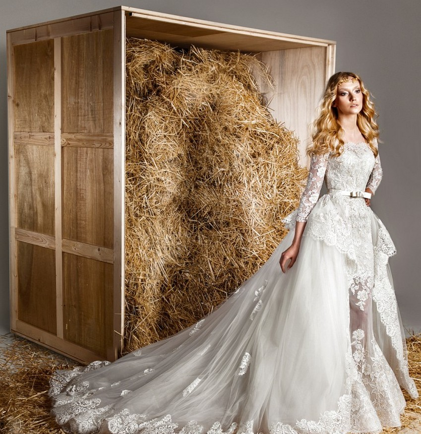 Zuhair Murad's Marriage Collection for Spring/Summer 2015 | Image Source: www.weddingstylemagazine.com