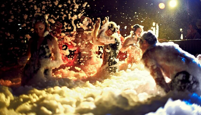 Spend the Craziest Weekend of Your Life in the Heart of Ibiza | Foam Party