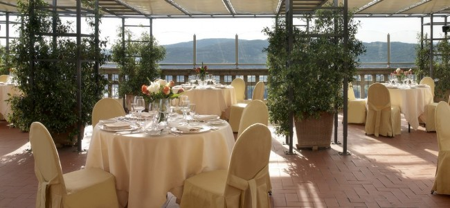 Beautiful 19th-Century Mansion in Perugia: Hotel Brufani Palace
