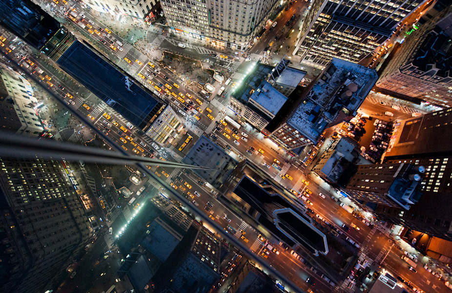 Aerial Shots of Manhattan
