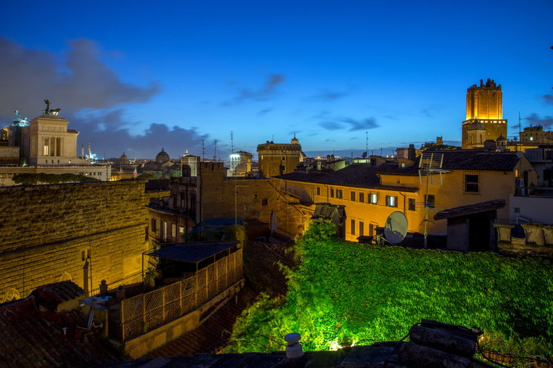 Beautiful Hotel in Italy: The Inn at the Roman Forum