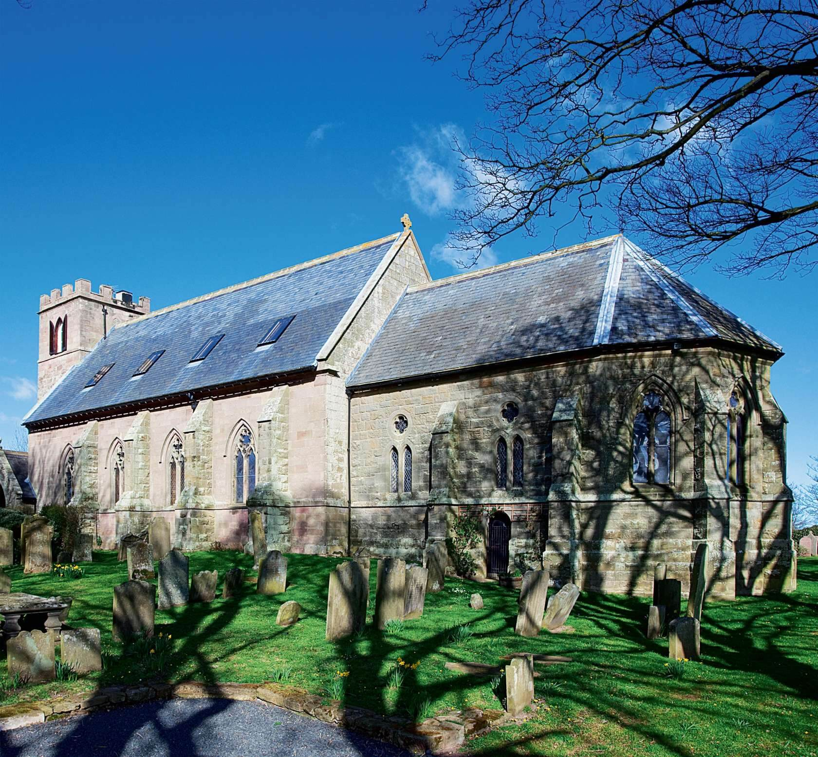 #10 Converted Georgian Church | Churches Converted Into Luxury Homes | Image Source:  homebuilding.co.uk