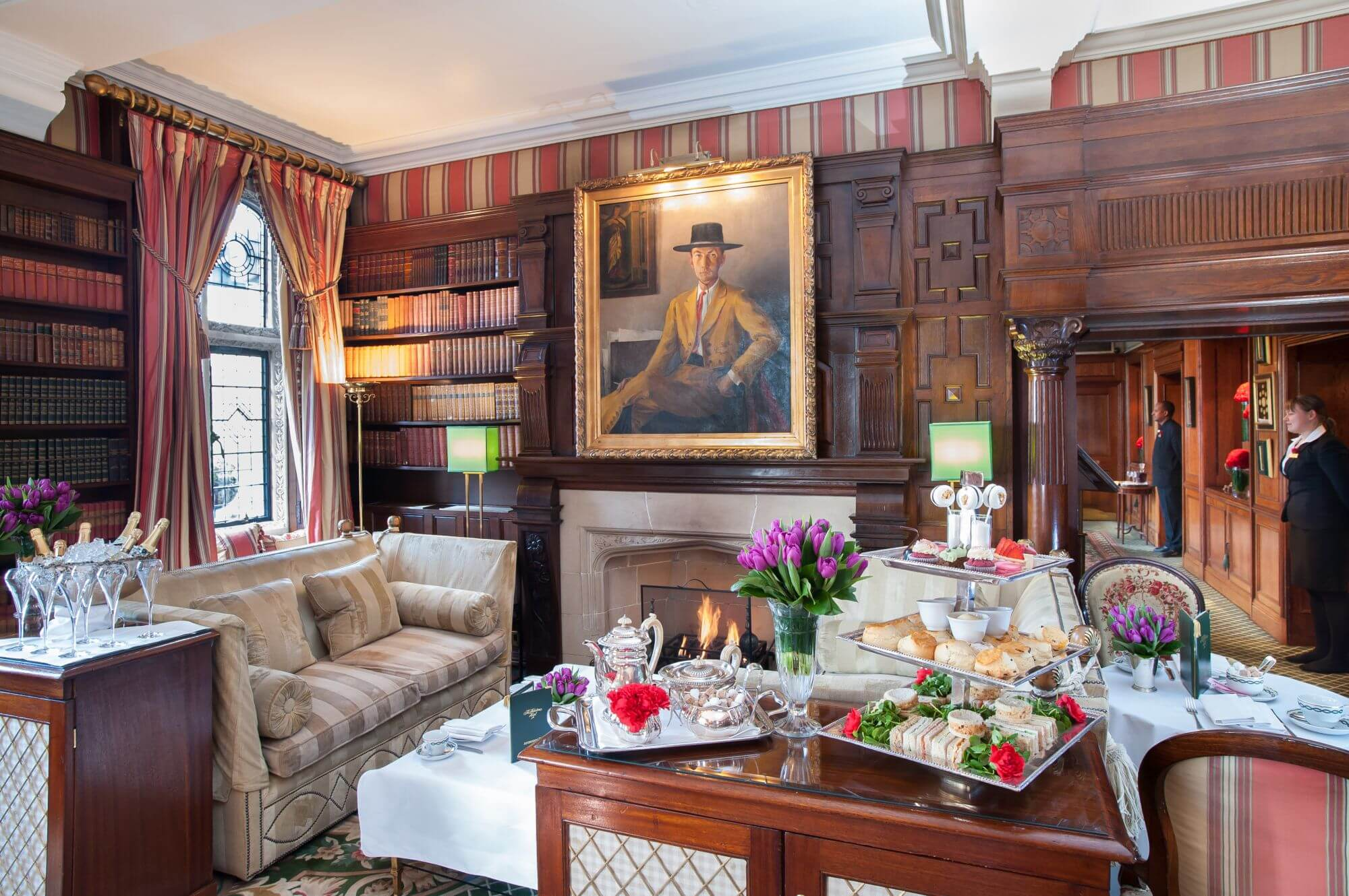 #10 Park Lounge At The Millestone Hotel | London Tea Rooms | Image Source: tripreporter.co.uk