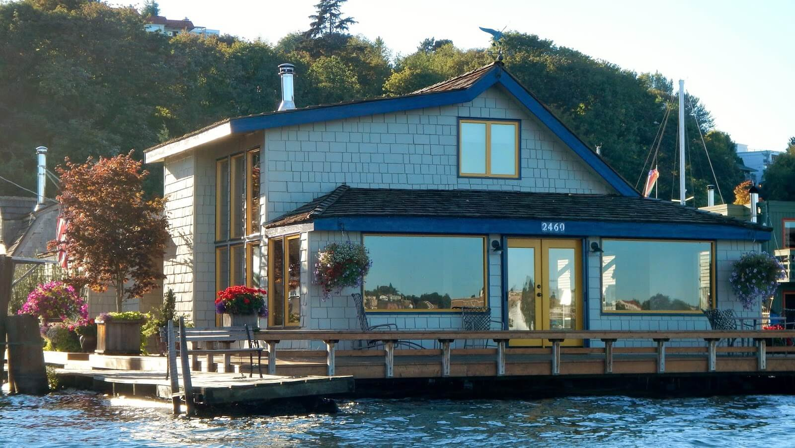 #10 Sleeptless In Seatle Floating Home | Homes Featured In Movies | Image Source:  unlimitednetworth.com
