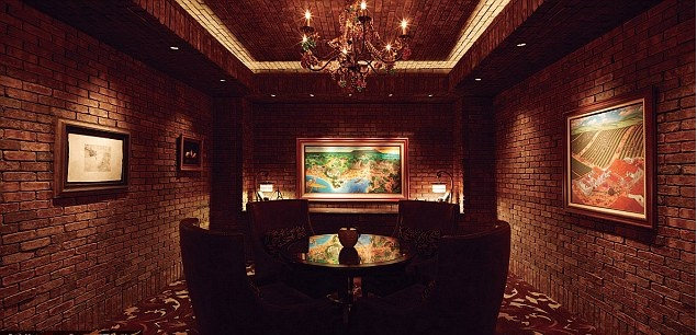 Welcome to Vintage Cave, the most luxurious restaurant in Honolulu; Vintage Cave dining room
