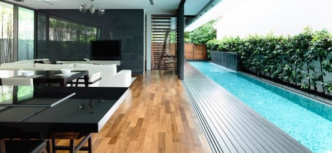 A Beautiful And Luxurious Example Of Contemporary Home In Singapore By HYLA