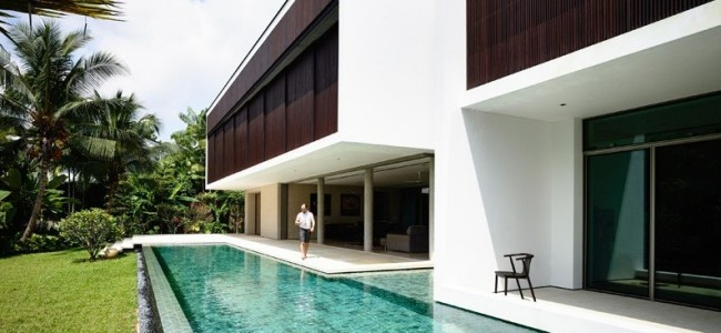This Is The Perfect Example Of Contemporary Addition And Remodel For A House In Singapore