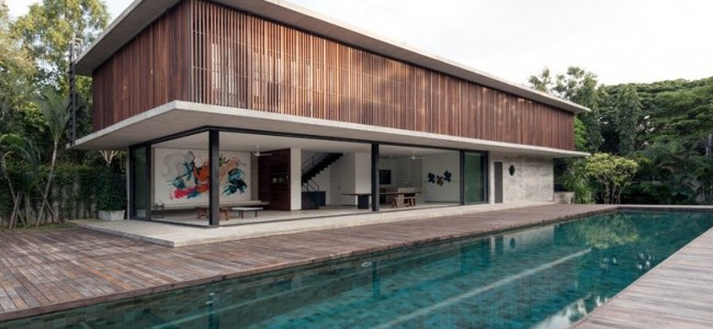 Architectkidd Designed A Modern Residence For A Swiss Family In Thailand