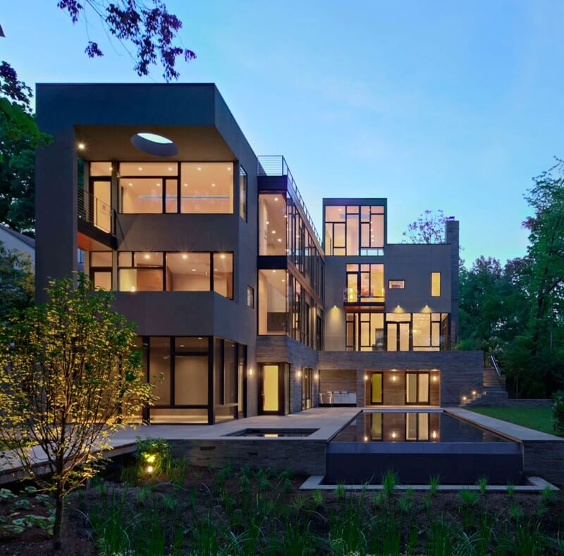 Brandywine House Modern Luxury Home - EALUXE 4