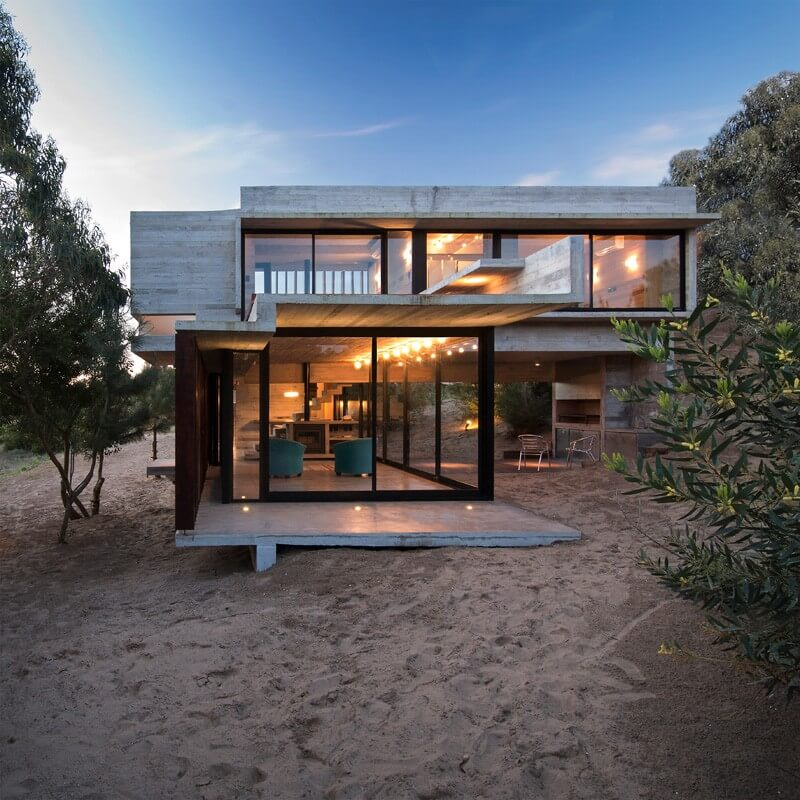The Casa MR From Argentina Is An Example Of Luxurious Holiday Home Perfect  For Vacations