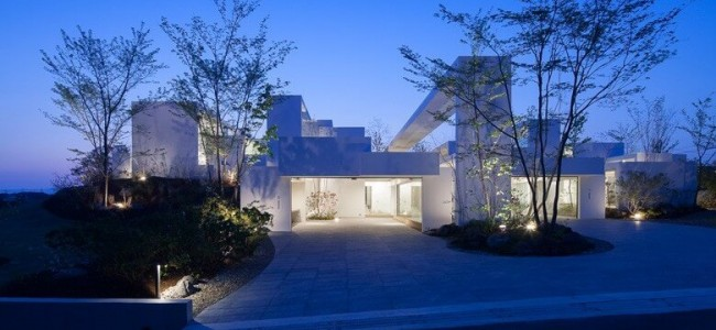 The Cosmic House From Japan Is A Different Kind Of Luxurious And Modern Residence