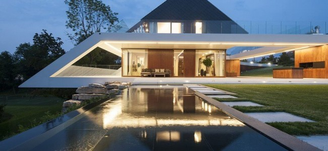 The Edge House From Poland Is A Unique Contemporary Luxury Residence