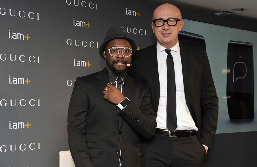 Gucci & Will.i.am Team up to Create a Luxury Smartband