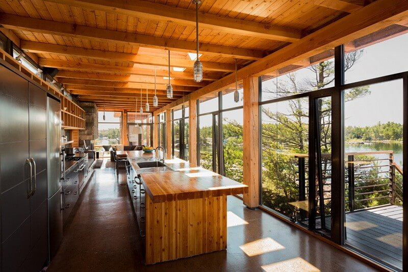 Home In Cottage Country Features Luxurious Design 8