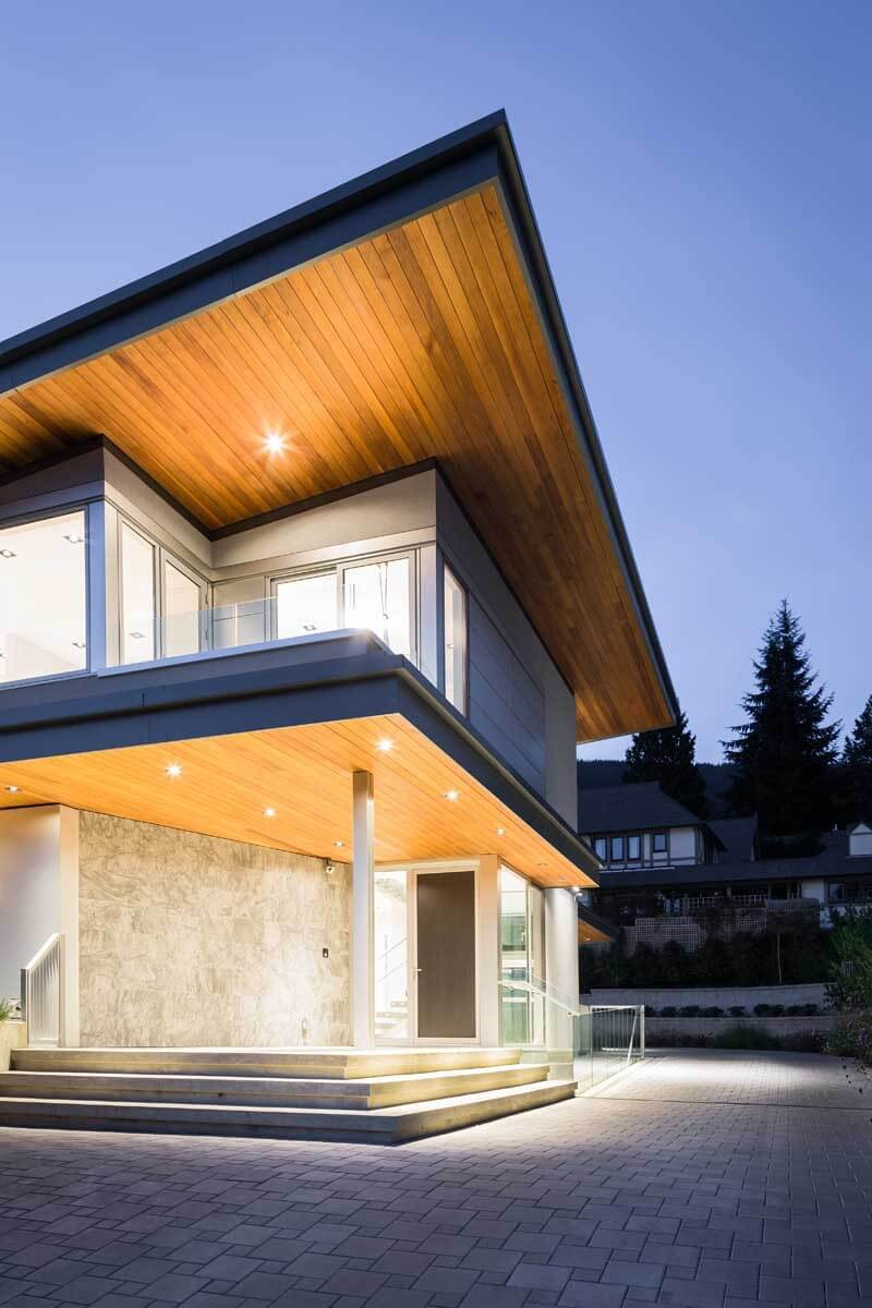 Mathers Avenue Residence Features A Butterfly Roof  1