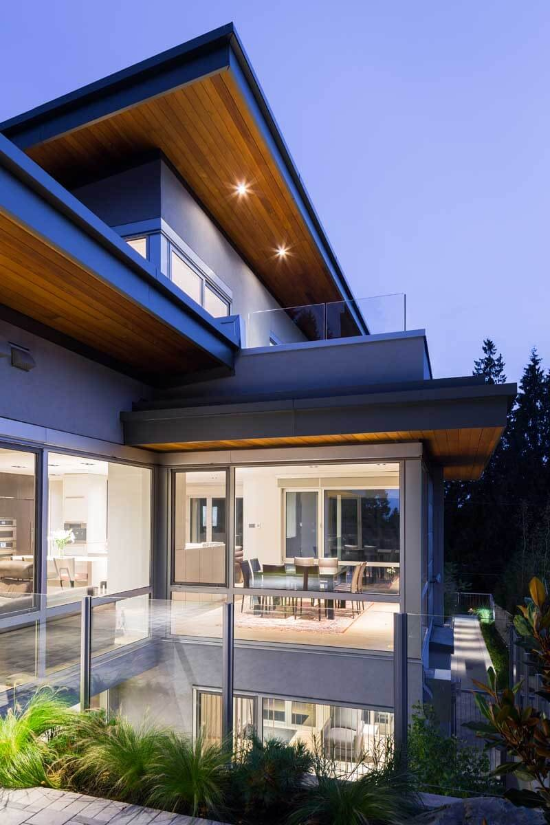 Mathers Avenue Residence Features A Butterfly Roof  3