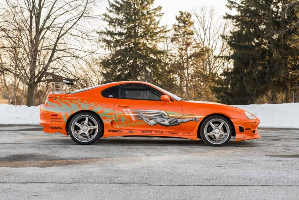 Buy The Original Paul Walkers Supra From Fast And Furious