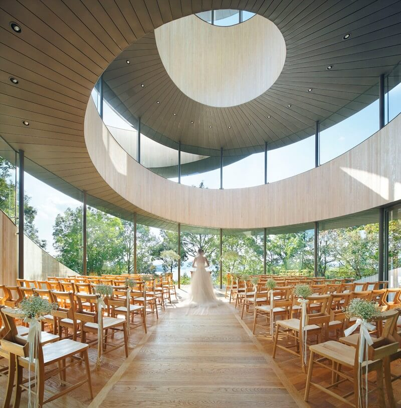 Ribbon Chapel Offers You A Luxurious Wedding 2