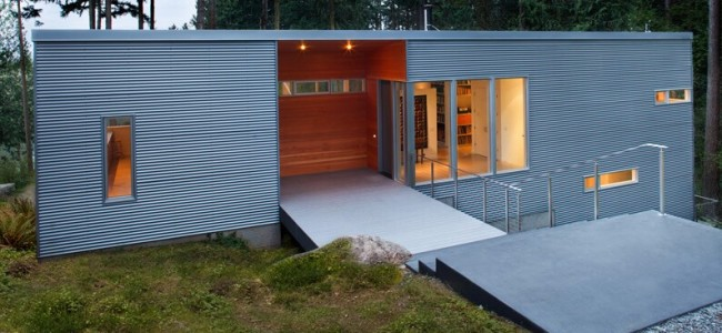 The Skagit River House Is An Outstanding Example of Luxurious And Modern Forest Retreat