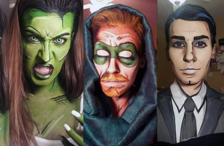 This Talented Artist Turns People into Comic Book Heroes
