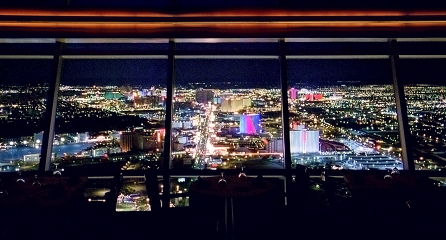 DINING AMONG GODS – TOP OF THE WORLD RESTAURANT – LAS VEGAS; Top of the World view