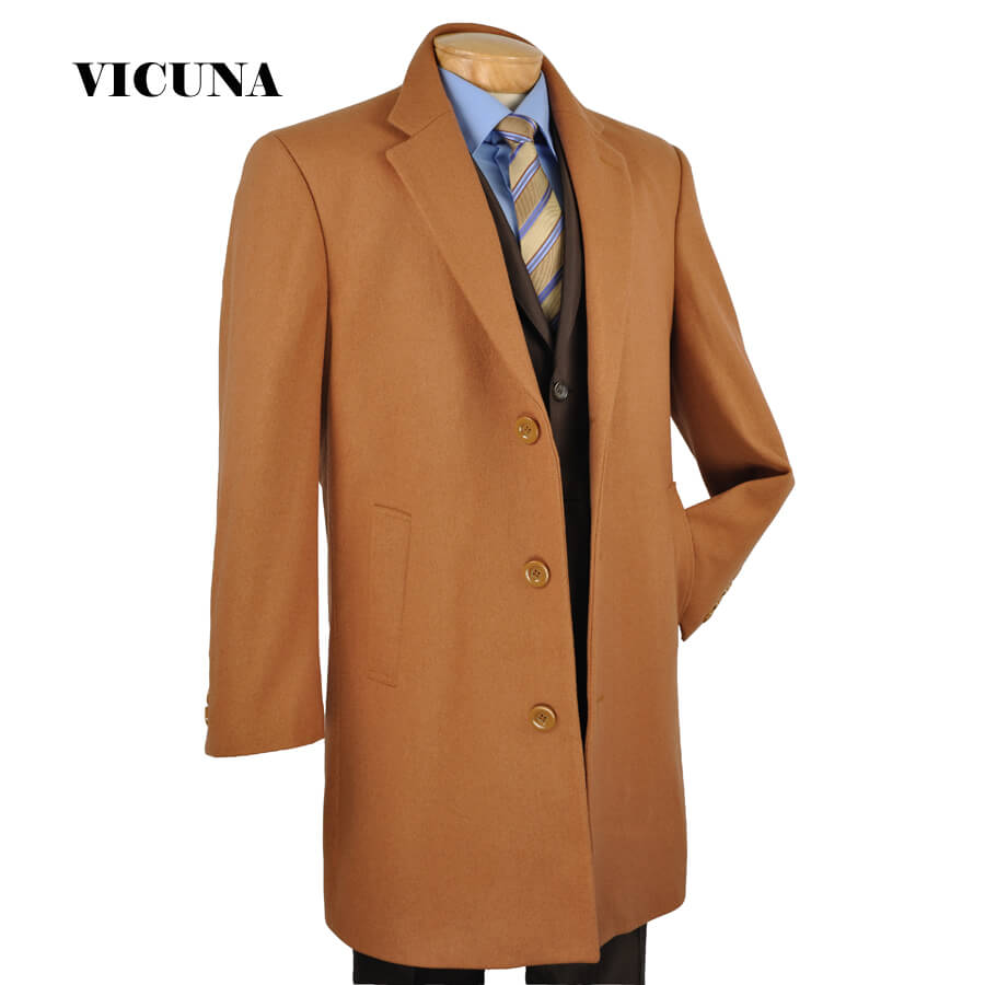 Finest fabric in the world; Vicuna coat