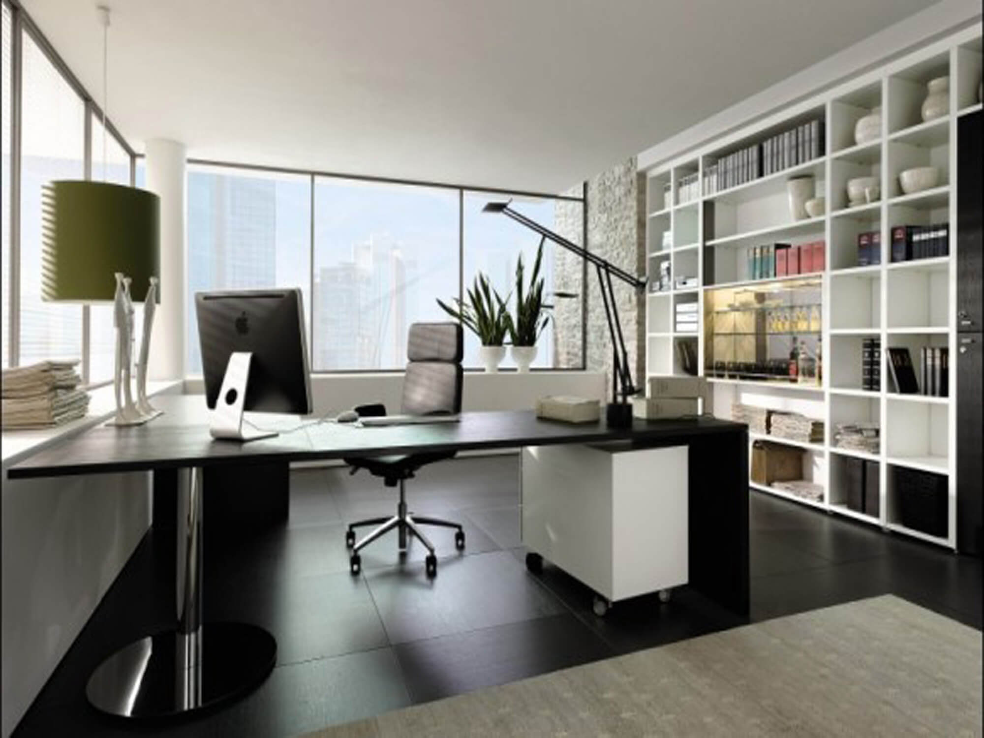 #10 Redecorate And Reorganize | 10 Ways To Make Your Office Stress Free | Image Source: eurofitdirect.co.uk