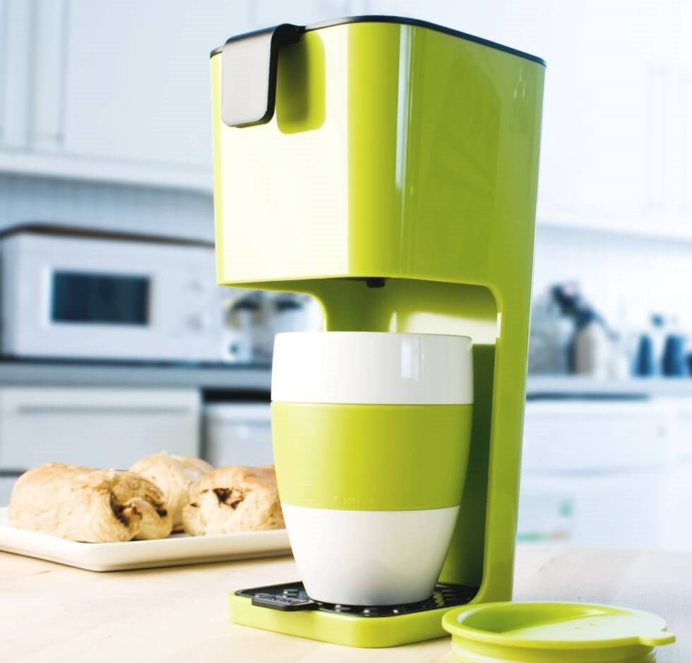 #10 The Kuziol Unplugged Coffee Maker | Unique Coffee Making Machines | Image Source: firebox.com