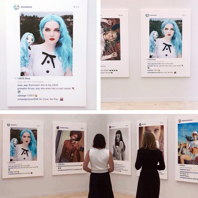Richard Prince Sells Your Instagram Pics for $100K Each
