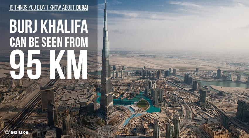 15 things you didn't know about dubai burj kalifa facts ealuxe