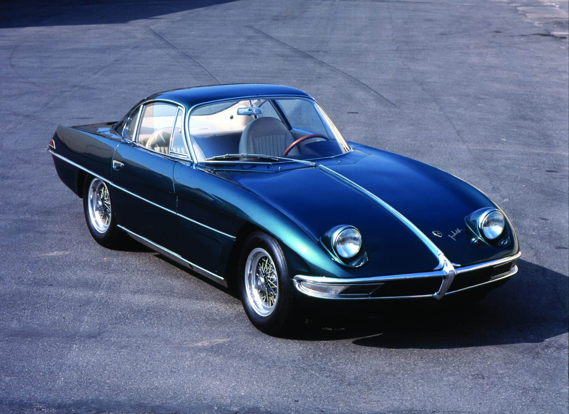 Things you didn't know about Lamborghini; Lamborghini 350 GTV